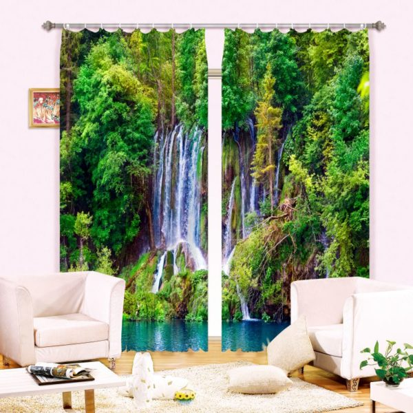 Amazing Waterfall Curtain Set