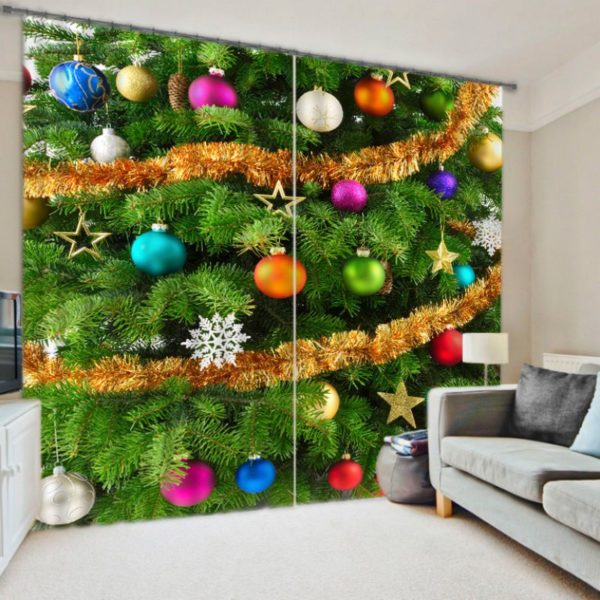 Exquisite Christmas Curtain set