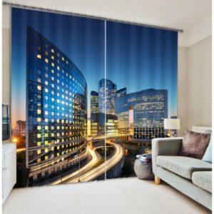 Contemporary Curtain Set