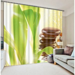 Nature-themed  Curtain Set