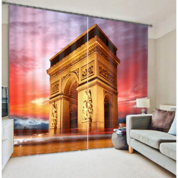 Artistic Gate Curtain Set