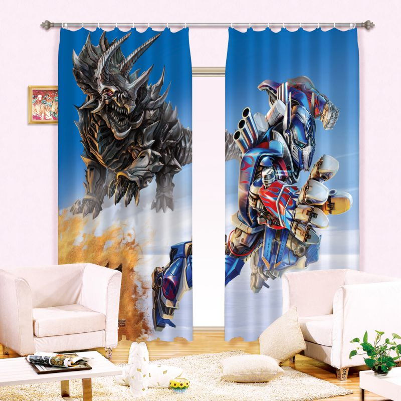 Transformers Printed Curtain Set Ebeddingsets