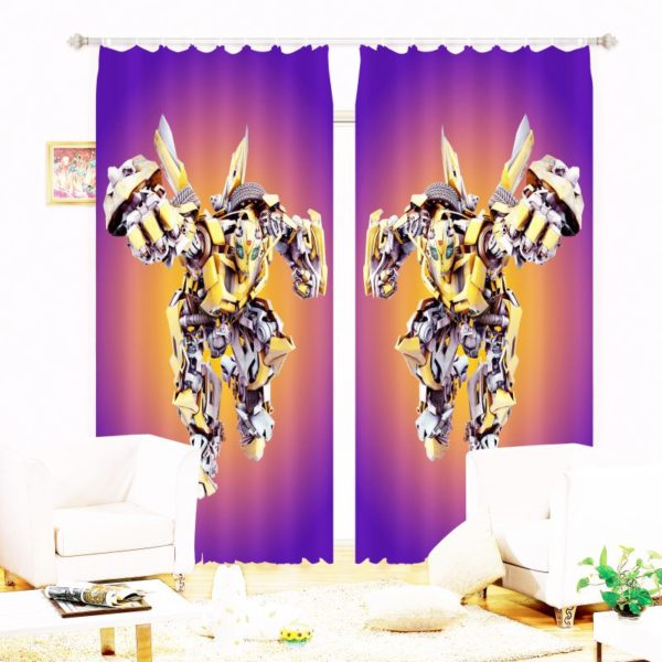 Awesome 3d Curtain Set