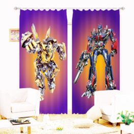 Amazing Transformer Picture Curtain Set