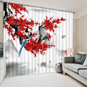 Fantastic Flower Curtain set