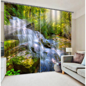 Fantastic 3D Curtain set With Waterfall