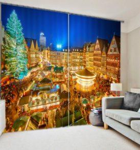 Fantastic Christmas Curtain set