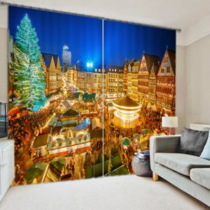 Fantastic Christmas Curtain set