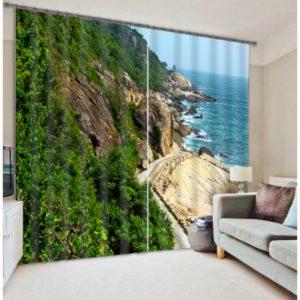 Charming Seaside Curtain Set