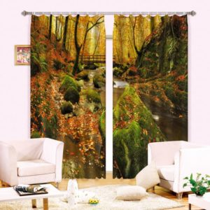 Nature Themed Curtain Set