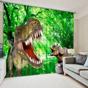 Jurassic Park Picture Curtain Set