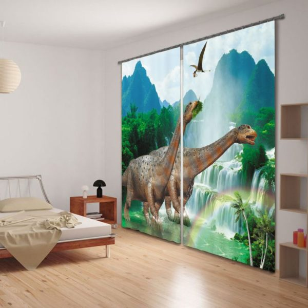 Amazing Dinosaur Curtain Set