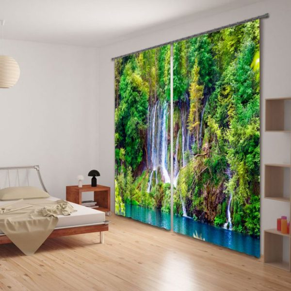 Amazing Waterfall Curtain Set