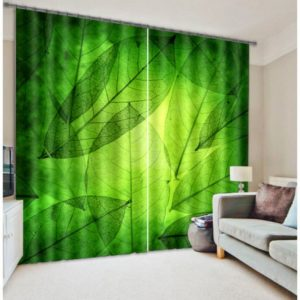 Lovely Green Curtain Set
