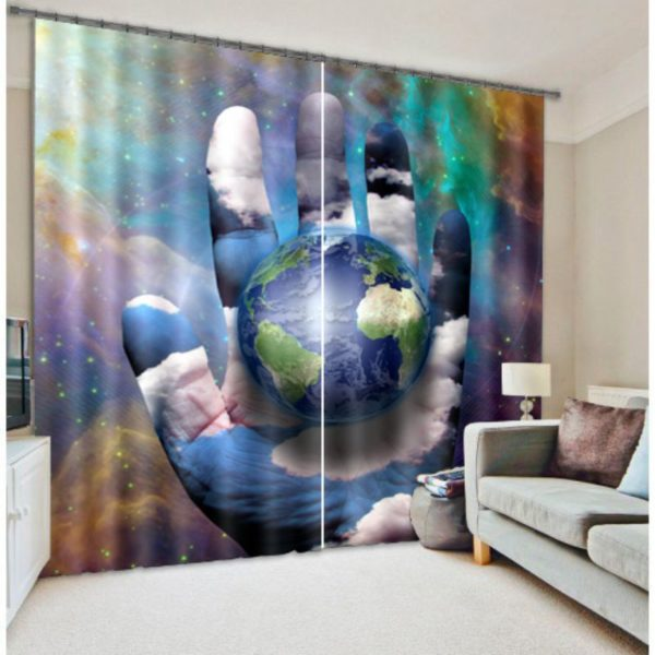 Meaningful Earth Curtain Set