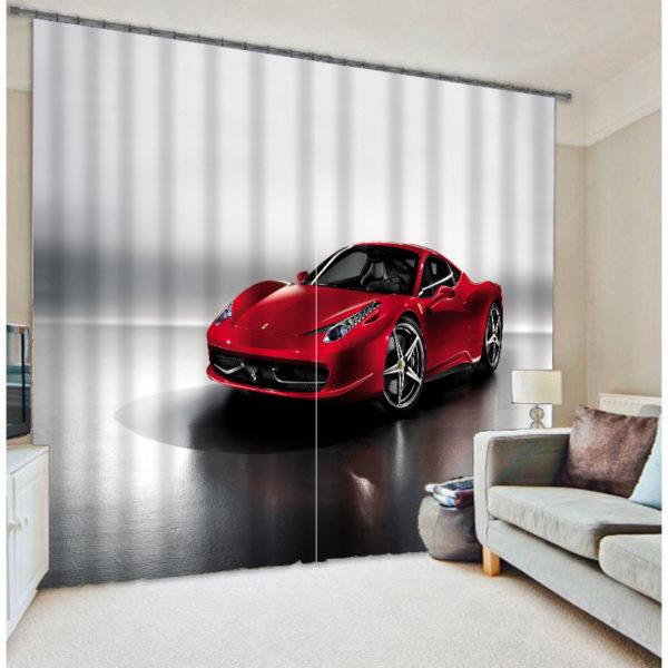 Fabulous Four-wheel Picture Curtain Set