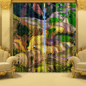Fantastic Picture Curtain Set