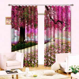 25amazon zpszuwlrmsw 300x300 - Royal Purple And Pink Curtain Set