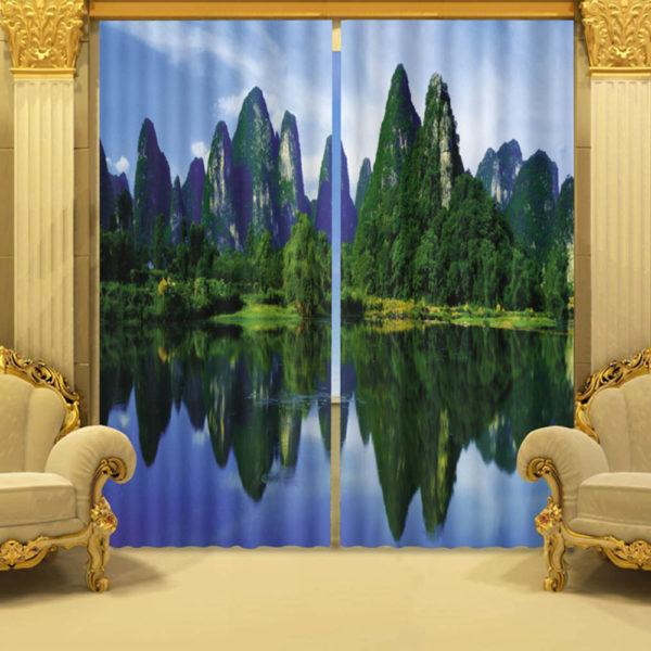 26 zpskgeknset 600x600 - Charming Nature Themed Curtain Set