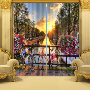 27 zpss5veglfa 300x300 - Lovely Gateway Themed Curtain Set