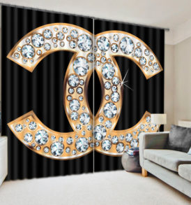 Chic And Modern Curtain Set