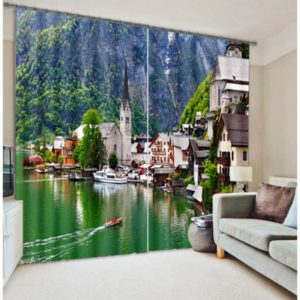 Awesome Nature Themed  Curtain Set