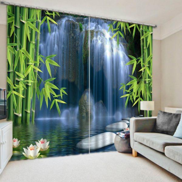 Charming Eifel Tower Curtain set