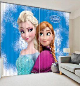Amazing Frozen Movie Curtain set