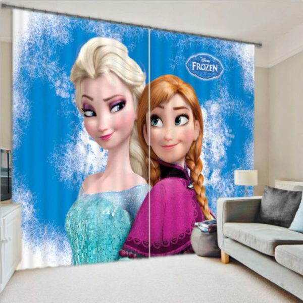 Amazing Frozen Movie Curtain set