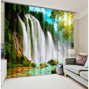 Spectacular Waterfall Curtain Set