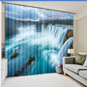 Very Impressive Waterfall Curtain Set