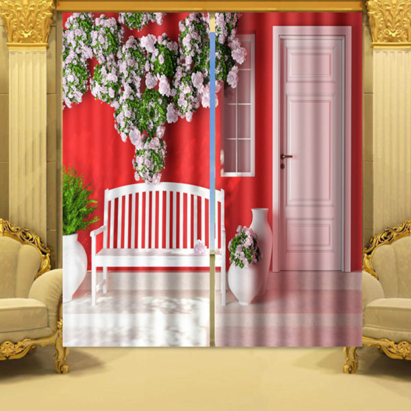 34 zpsp1d8ud3j 600x600 - Ultra Cool And glamorous 3D Window Curtain Set