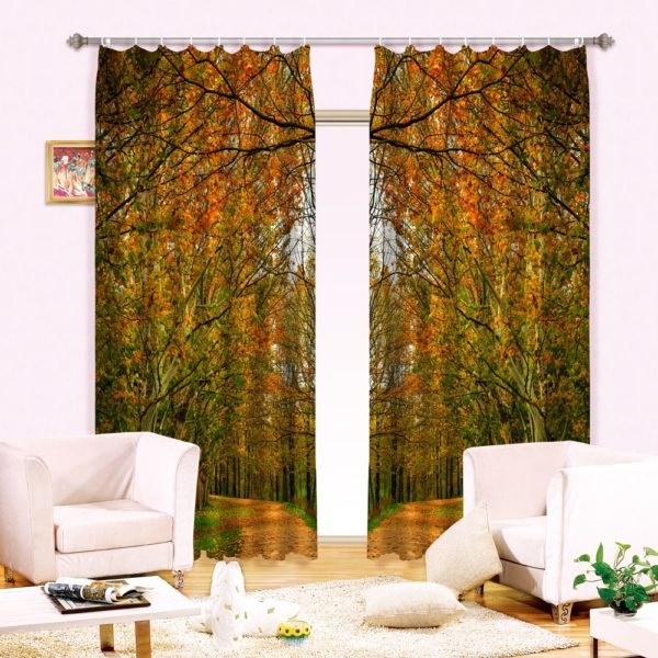 36amazon zpsque5jr5o 600x600 - Delightful Nature Themed Curtain Set