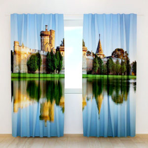 37 zpsobztjprw 300x300 - Brilliant Castle Themed Curtain Set