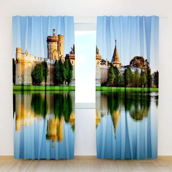 37 zpsobztjprw 600x600 - Brilliant Castle Themed Curtain Set