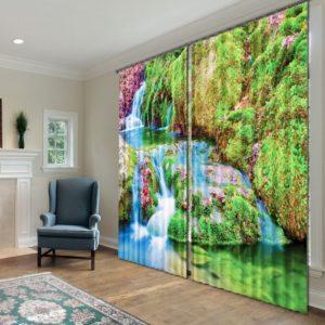 39amazon zps4co7vsra 300x300 - Elegant  Curtain Set with Nature Theme