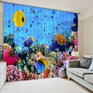 Latest Marine Themed Curtain Set