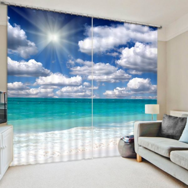 Ultra stylish Nature Themed Curtain Set