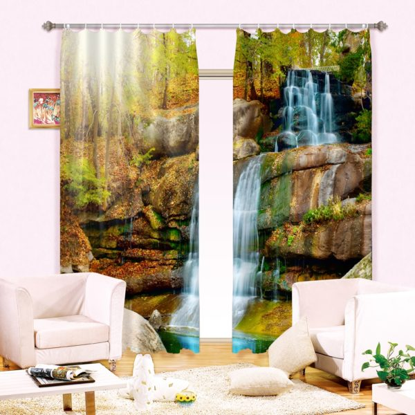 46amazon zpsj5krolbz 600x600 - Beautiful Waterfall Curtain Set