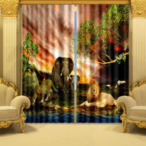 49 zpsdmokyeeb 300x300 - Stylish Wildlife Curtain Set