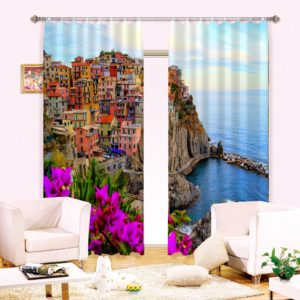 Digitally Printed Curtain set