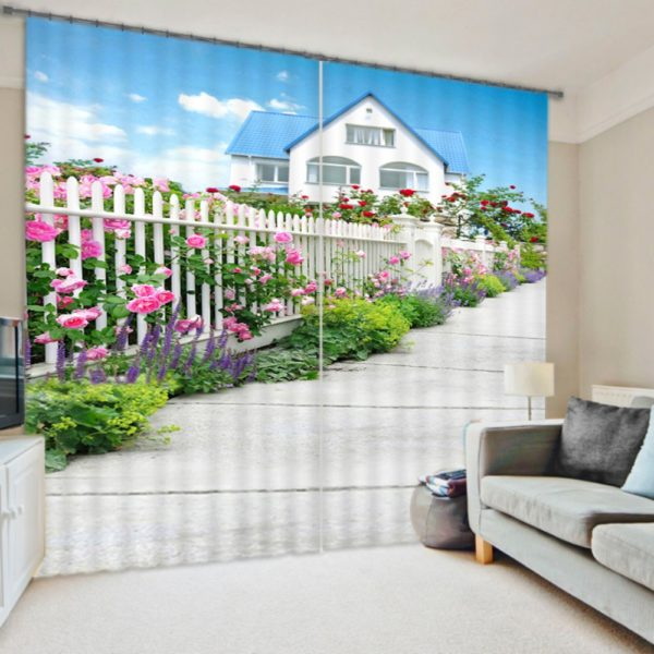 Charming Cottage Curtain set