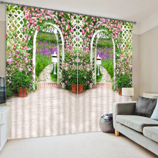 Flower Power Curtain set