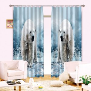 61amazon zpsnjjfrvup 300x300 - Polar Bear Wildlife Curtain Set
