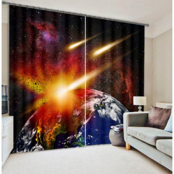 Appealing Earth Curtain set