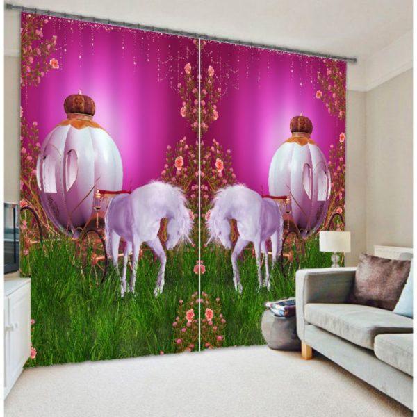 Fantastic Unicorn Curtain set