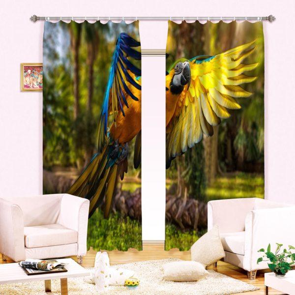 65amazon zpsgqwlohsz 600x600 - 3D Animal Print Curtain Set