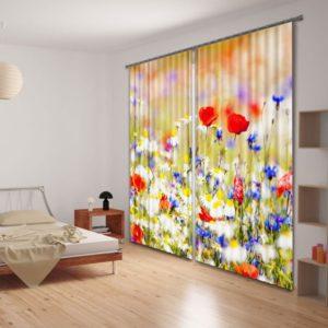 68amazon zps7ox336pj 300x300 - Lovely Rose Curtain Set