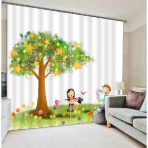 Fabulous Magic Motif Curtain set