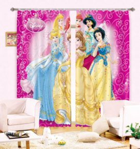 Amazing Disney Princess Curtain Set